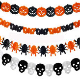7styles Halloween Papiergirlande Dekorationen Halloween Requisiten