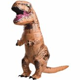 Adulto T-Rex Inflable Mono Dinosaur Blow Up Halloween Disfraz Disfraz Decoración Juguetes