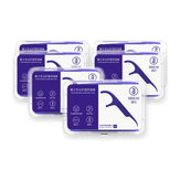 SOOCAS 300 Pcs Dental Floss Picks Interdental Entre Os Dentes