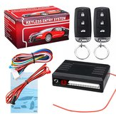 Universal Vehicle Central Locking Kit & Car Alarm System with Immobiliser Shock Sensor