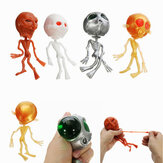 Alien ET Skeleton Squishy Squeeze Rubber Water Ball Stress Reliever Decompress Toy Gift
