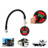 0-200PSI Metal Digital Tire LCD Manometer Air Pressure Gauge PSI BAR KPA