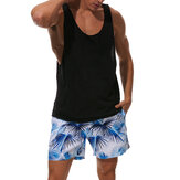 ESCATCH Summer Leisure Holiday Beach Printing Board Shorts