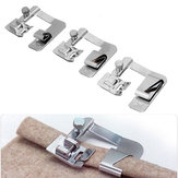 3Pcs Domestic Sewing Machine Presser Foot Rolled Hem Feet Set 4/8'' 6/8'' 8/8''