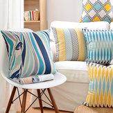 ПодушкаснадписямиNordicStyleГеометрическая подушка Декоративная подушка Чехол Цветочные чехлы для печатных подушек