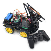 DIY meArm Robot Arm Car para Ardunio Program com PS Wireless Controle Remoto