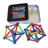 27 Stücke Magnet Buck Ball 36 Stücke Magnetische Spielzeug Multi-farbe Bar Intelligente Stressabbau Mit Box