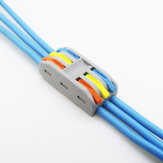 PCT-3 3Pin Colorful Dockingconnector Elektrische connectoren Draadaansluitblok Universele elektrische draadconnector