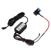 Micro USB Car DVR Exclusivo Poder Caixa Carregador Adaptador Duro Fio Conversor Kit