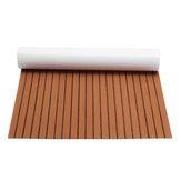 240cmx120cmAggiornamentoBrownEVAespanso6mm spessore Faux Teak Flooring Pad piano per pavimentazione