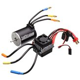 Racerstar 3650 Sensorless Brushless Wasserdichter Motor 60A ESC Für 1/10 Monster Truck Truggy Autos