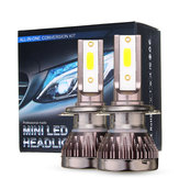 80W Mini Car LED Headlights Bulbs H1 H4 H7 H8 9005 9006 9012 Lamp Fog تيار منتظم 9-32V 10000LM White