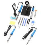 14 in1 110V/220V 60W EU Plug Electric Soldering Iron Starter Tool Kit Set