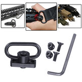 Tactische Heavy Duty 1.25 Sling Mount Drukknop QD Sling Adapter Rail Buckle Strap Ring