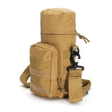 KCASA KC-BC05 Molle Water Bottle Carrier Travel Climb Outdooors Waist Belt Tactical Kettle Bag Holder