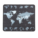 Small World Map Mat 300*250mm Non-Slip Mousepad Waterproof Overlock Gaming Mouse Pad Mat