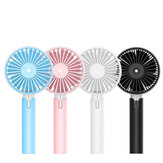Draagbare Handheld Fan 4.5 W Oplaadbare Mini Koelventilator 3 Speed USB Ventilator Wind Cooler Batterij