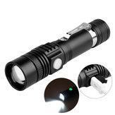 XANES WT518 XM-L T6 1000люмен 3режима Портативный масштабируемый LED Фонарик