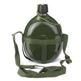 1.5L Military Canteen Aluminum Bicycle Cycling Military Water Cup Bottle