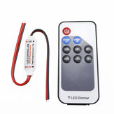 DC5-24V LED RF Controller Dimmer 9 Tasten Funkfernbedienung für Single Color Strip Light