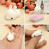 Bunny Rabbit Squishy Squeeze Cute Healing Toy Kawaii Collection Stress Reliever Gift Decor