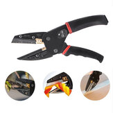 3 IN 1 Cutting Tool Multi Cut Pliers Wire Black Power Cut Garden Pruning Shears With 3pcs Extra Blades Wire Stripper Scissors for Cutting Cable Leather Electrician Hand Crimping Tools