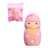 Squishy Sakura Cherry Blossom Girl Doll 11.5cm Slow Rising With Packaging Collection Gift Decor Toy