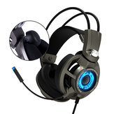 SOMiC G954 USB Com Fio Virtual 7.1 Surround Sound SVE Vibração Gaming Headphone Headset
