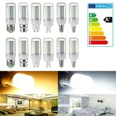 Dimmable E14/E27/G9/GU10/B22/E12 SMD4014 5W LED Corn Bulb Light Home Lamp AC220V