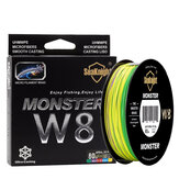 SeaKnight Monster W8 500M 8 Strands Рыбалка Line Multi-Colours 20-100LB Соленая вода плетеная Провод