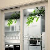 60x58cm Frosted Opaque Vidro Janela Film Tree Etiquetas De Vidro De Privacidade Home Decor