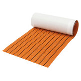 600x2000x6mm EVA Foam Sheet Orange with Black line Teak Synthetic Boat Decking Pad