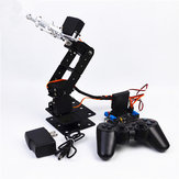 DIY SNAM5000 Aluminous 4DOF RC Robot Arm PS2 Stick Control With MG996 Servos