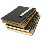 1 Pz Kraft Spiral Sketching Notebook Graffiti Notebook Creativo Notepad Diary Book Scuola Cancelleria