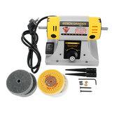 220 V Verstelbare Snelheid Mini Polijstmachine Voor Dental Sieraden Motor Draaibank Bench Grinder Kit