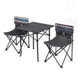 GOCAMP Portable Folding Table Chair Set Outdoor Camping Picnic BBQ Stool Max Load 120kg from xiaomi youpin