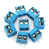 20pcs 2-pins plug-in schroefklem connector plug 5.08mm pitch