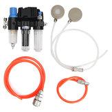 2 em 1 sistema do respirador de Fed do ar para o respirador de pulverização de pintura do gás Máscara