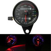 Universal Motorcycle Dual LED Backlight Signal Przebieg prędkościomierz prędkościomierza Gauge