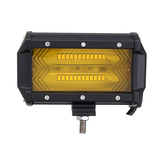 5Inch 72W 1300LM LED Work Light Flood Spot Combo Fog Lamp Amber for Jeep Offroad SUV Boat