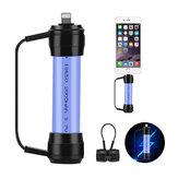 XANES XC01 Mini Chargeur de Secours Magnétique Portable USB 18650 Batterie Charge d'Alimentation pour Téléphone Portable