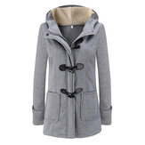 Women Winter Thick Hooded Coats