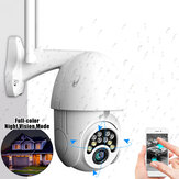 10LED 5X Zoom HD 2MP IP Security fotografica WiFi Wireless 1080P PTZ esterno Visione notturna impermeabile ONVIF