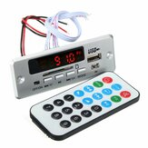 DC 12V / 5V MP3 Decode Board LED USB AUX FM Bluetooth Funkverstärker mit Fernbedienung