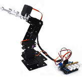 Small Hammer DIY Arduino 4DOF Aluminous RC Robot Arm
