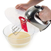 Eier Mixer Anti Splash Kunststoff Silikon Transparent Runde Abdeckung Ei Creme Waterproof Splash Egg Beater Cover