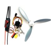 RC Airplane DIY Set Skywalker 30A ESC + 1400KV 2212 Motor + 3 Blade 8060 Propeller القوة Combo