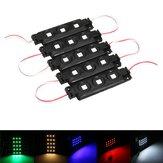 5PCS SMD5050 Waterdichte RGB 3LEDs AD Module Colorful Decoratieve striplamp DC12V