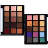 Popfeel 15 couleurs fard à paupières Palette Shimmer Glitter Nude