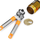 KCASA KC-CO046 Manual Easy Grip Stainless Steel Side Cut Tin Can Jar Beer Opener Kitchen Tools